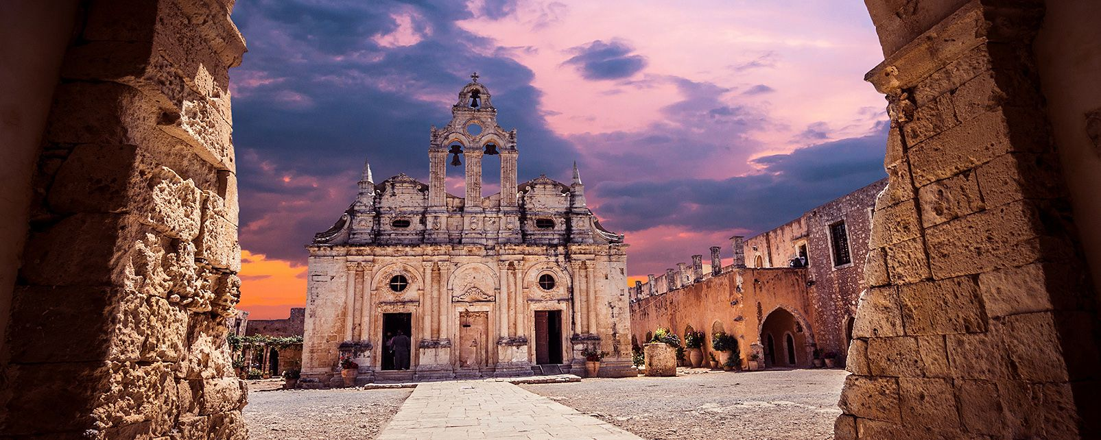 Le Monastère d'Arkadi, Monastère d'Arkadi, Les monuments, Crète