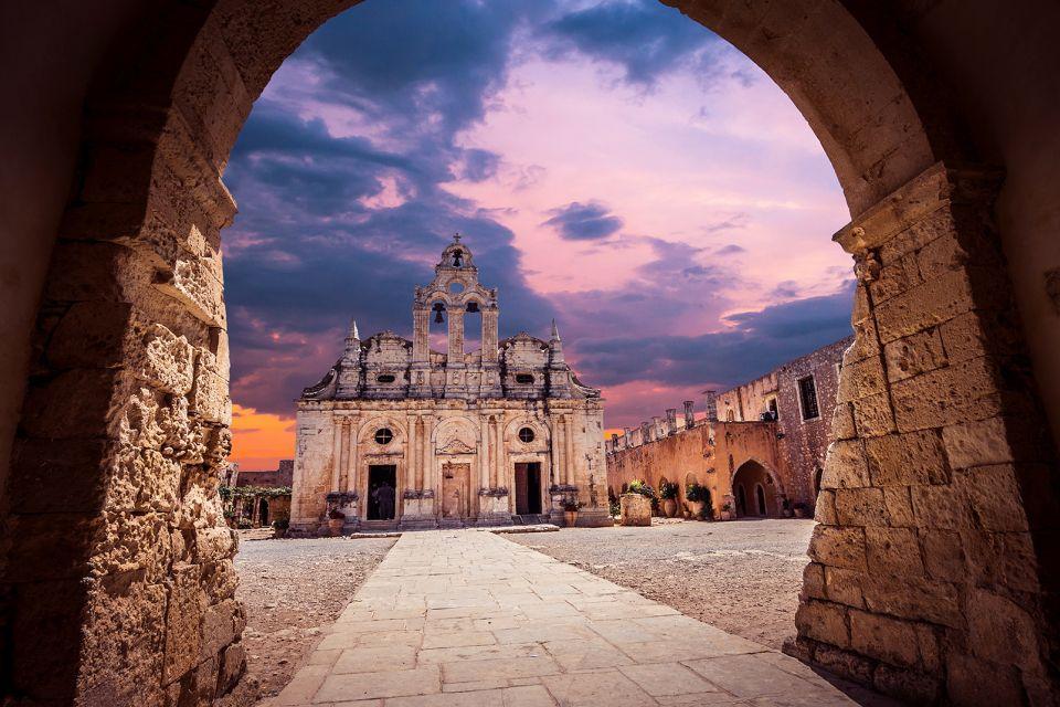 Il Monastero di Arkadi, Monastero di Arkadi, I monumenti, Creta