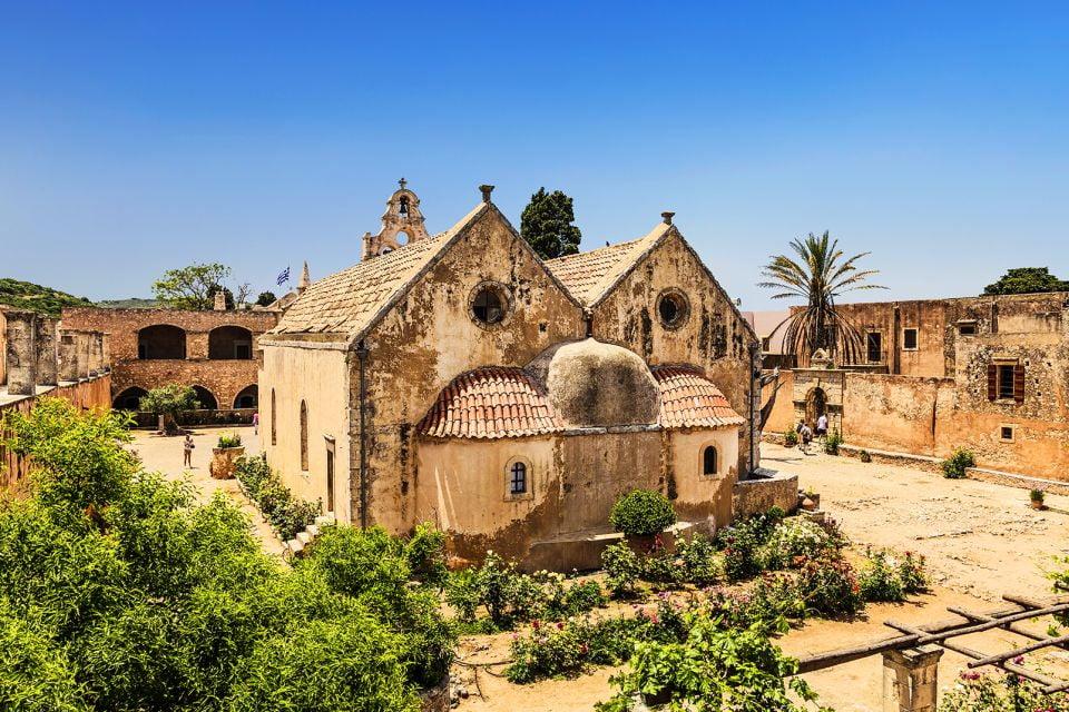 Conseil pour la visite, Monastère d'Arkadi, Les monuments, Crète