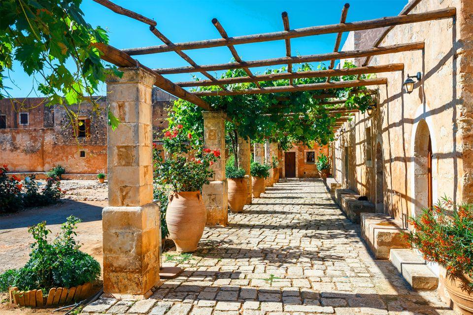 Un importante centro vitale, Monastero di Arkadi, I monumenti, Creta