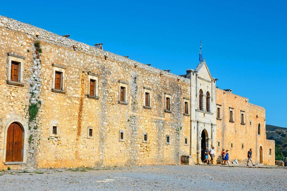 L'entrée du Monastère, Monastère d'Arkadi, Les monuments, Crète