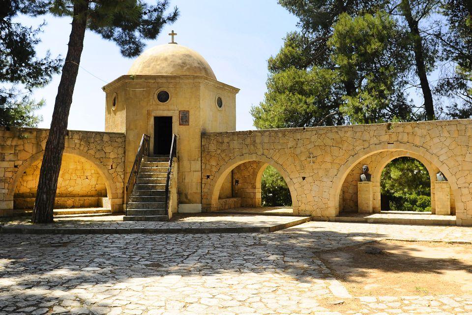 L'ossuaire, Monastère d'Arkadi, Les monuments, Crète