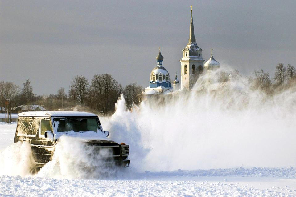 Laponie Ice Driving , Svezia