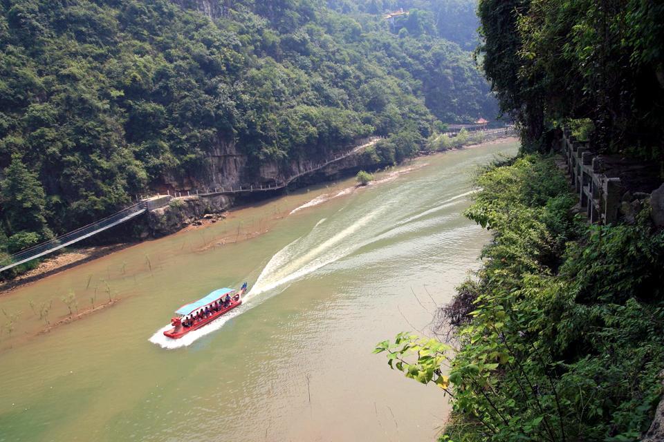 Die Drei Schluchten des Jangtsekiang , Entdeckungsfahrt zu den Drei Schluchten , China