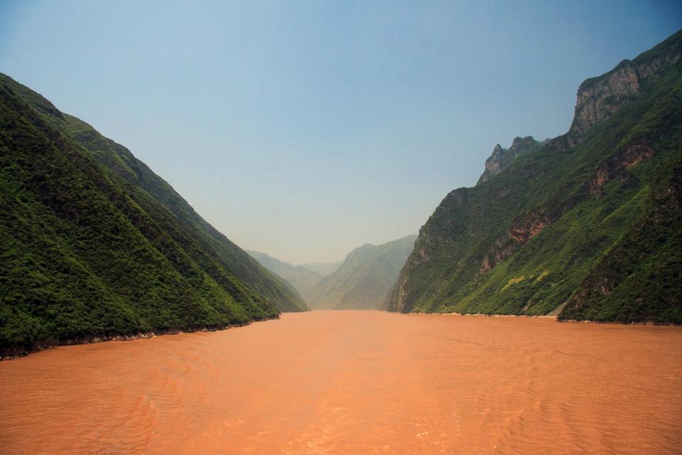 Die Drei Schluchten des Jangtsekiang , Die Landschaft der drei Schluchten , China