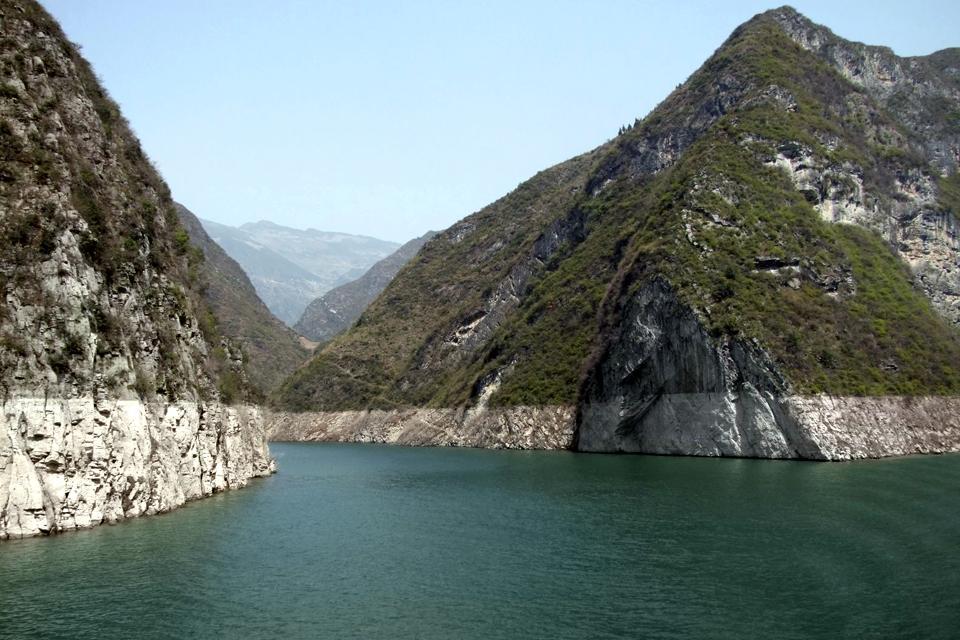 Die Drei Schluchten des Jangtsekiang , Die Geschichte der Drei Schluchten , China