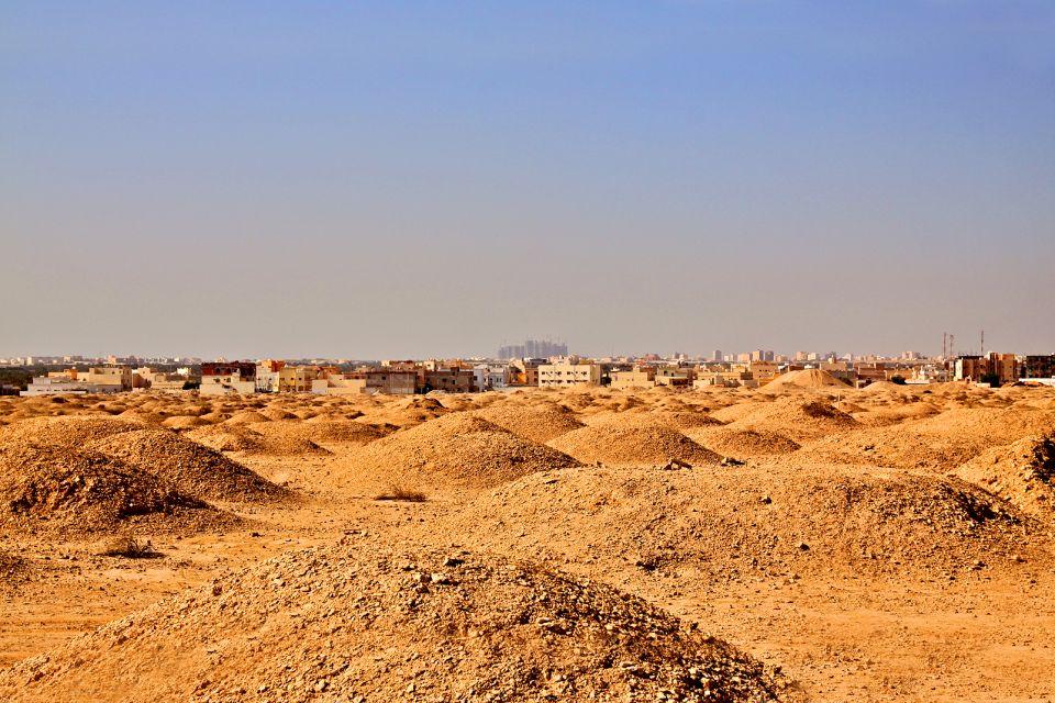 La necrópolis en el pueblo de A'Aali. , Bahréin