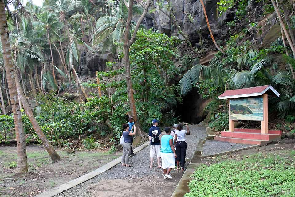 Black Point and the pirates , Black Point tunnel , Saint-Vincent and The Grenadines