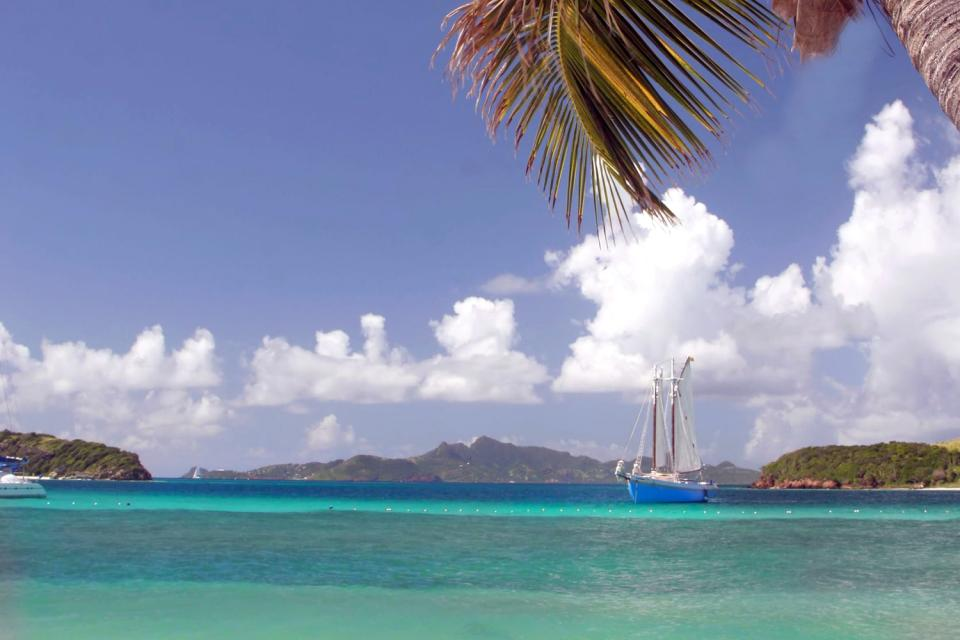 Mayreau and the Tobago Cays , Saint-Vincent and The Grenadines