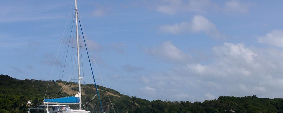 Catamar�n en las islas Granadinas