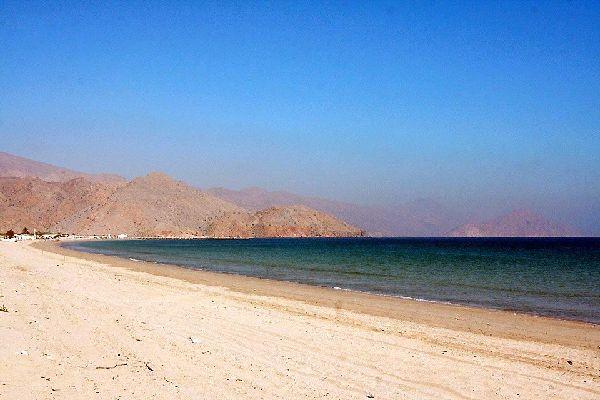 Sharjahs Küste , Dubai und die Emirate