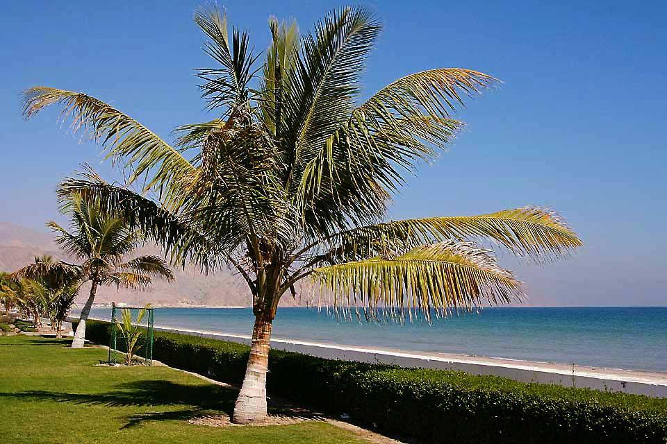 La côte de Sharjah , Les plages de Sharjah , Dubaï et les Emirats