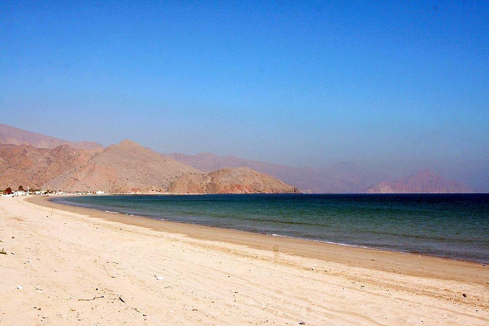 La côte de Sharjah , Sharjah balnéaire , Dubaï et les Emirats