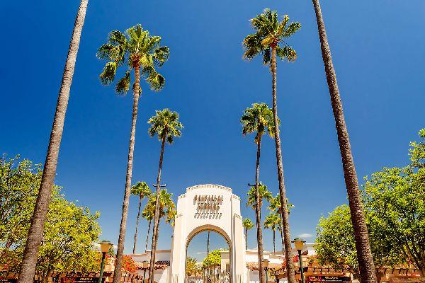 Universal Studios , L'entrée du parc à thèmes Universal Studios , Etats-Unis