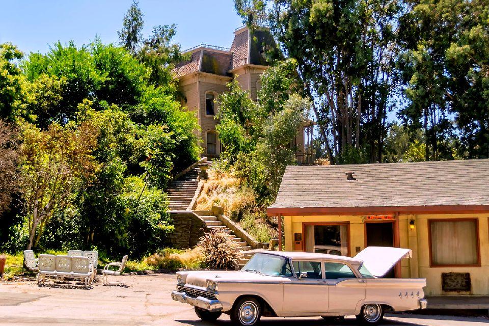 Universal Studios , Le décor du film Psychose d'Hitchcock , Etats-Unis