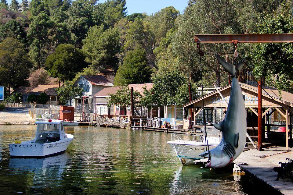 Universal Studios , Décor du film Les Dents de la Mer , Etats-Unis