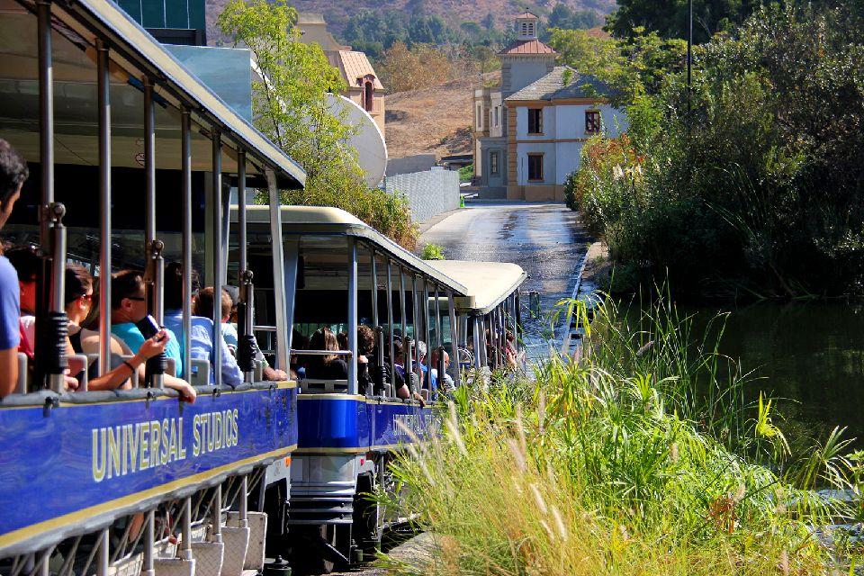 Universal Studios , Visite à bord du StudioTour Tram , Etats-Unis