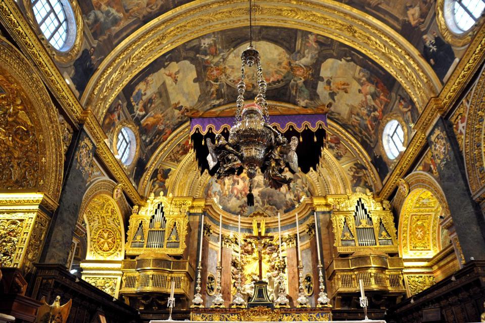 La Cattedrale Di San Giovanni Malta
