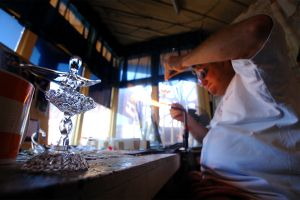 Glass blowing , Glasswork , Malta