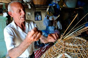 The manufacturing of fishing equipment , Making fishing equipment , Malta