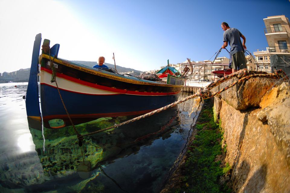 Fishing , 'Luzzu', Malta , Malta