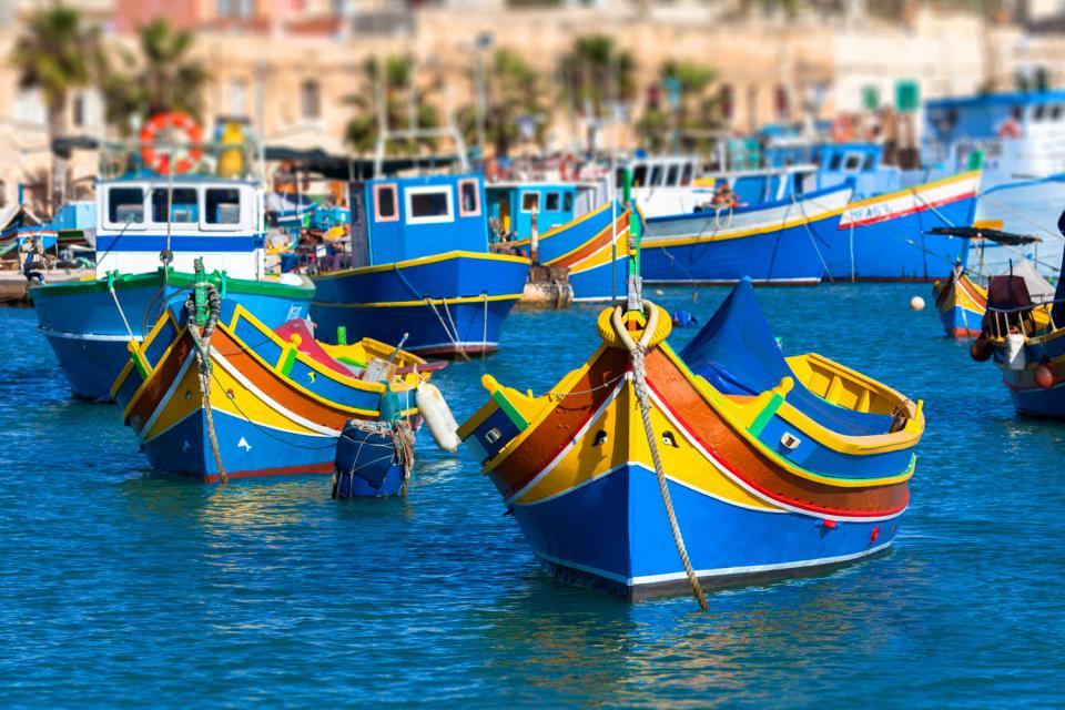 Fishing , 'Luzzu' rides, Malta , Malta