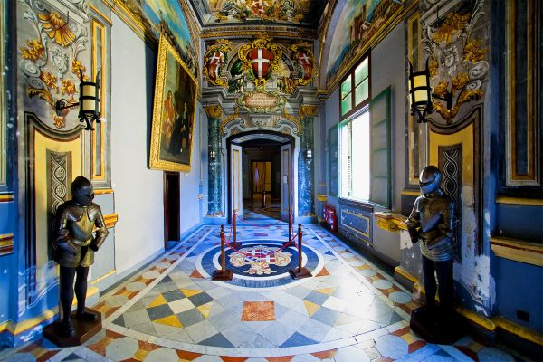 The Grand Palace of the President of the Republic of Malta , Palace of the President of the Republic , Malta