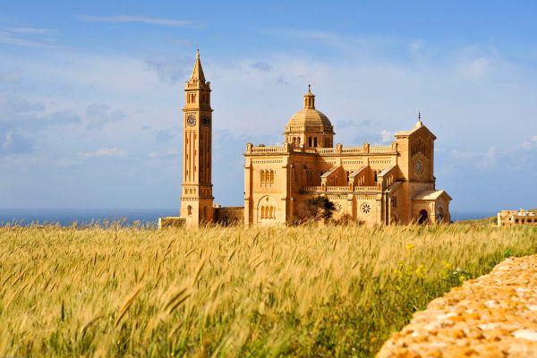 La basílica Ta'Pinu , Malta