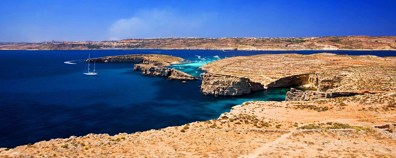 The Island of Comino , Comino Island , Malta