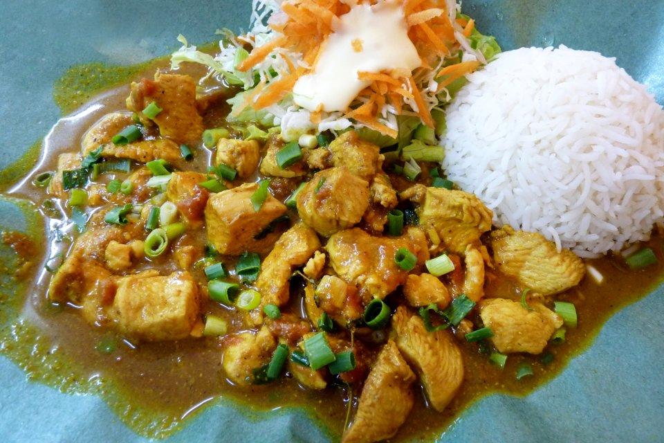 Les arts et la culture, cuisine, recette, gastronomie, maurice, afrique, île, océan indien, nourriture, alimentation, poulet, curry, épice, mafé