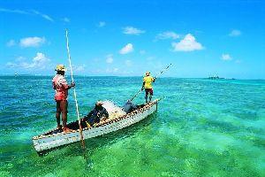 La pêche , Ile Maurice