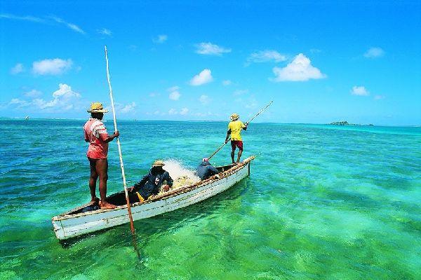La pesca , Isla Mauricio