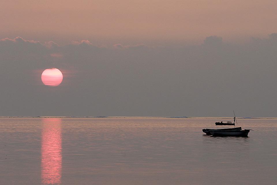 Fishing , Canoe fishing, Mauritius , Mauritius
