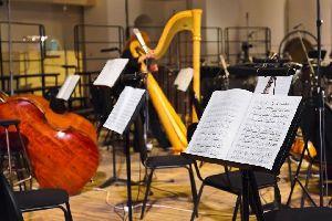 Les orchestres symphoniques , Lumière tamisée pour musique douce , France