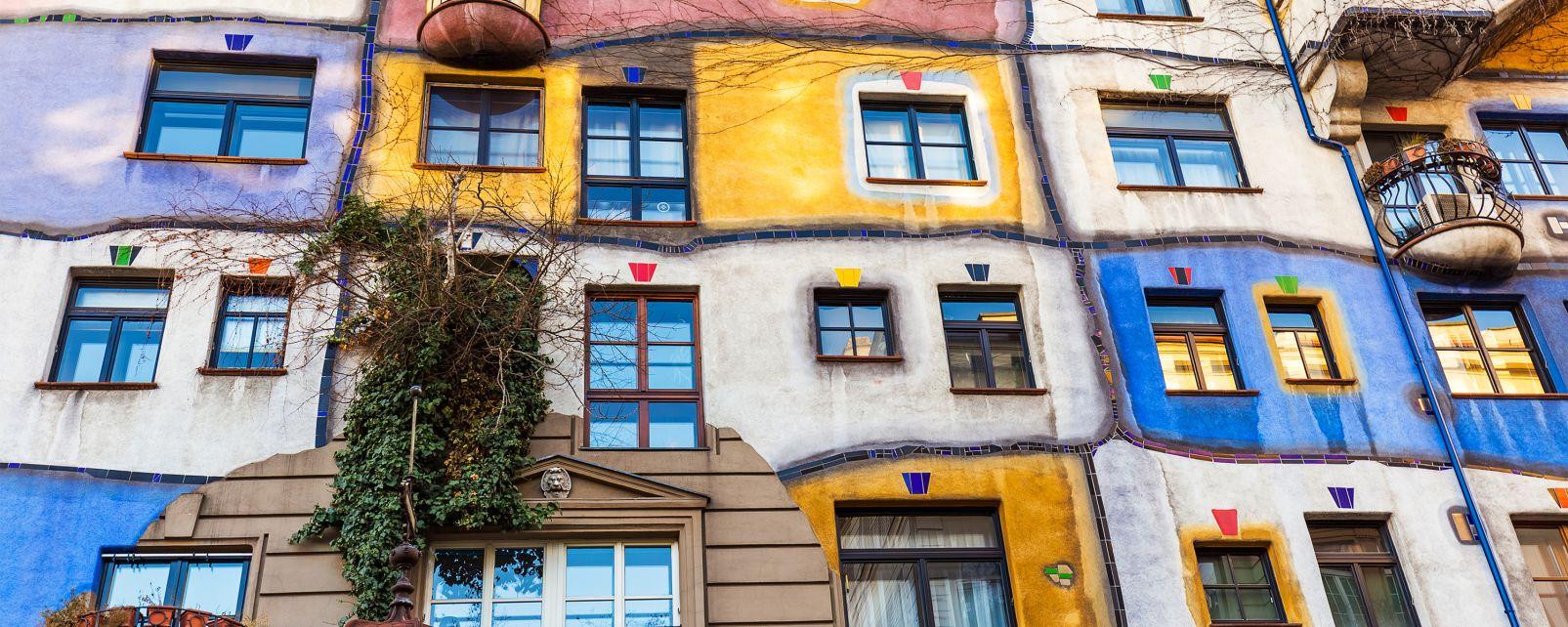 Hundertwasserhaus, Die Künste und die Kultur, Wien, Österreich