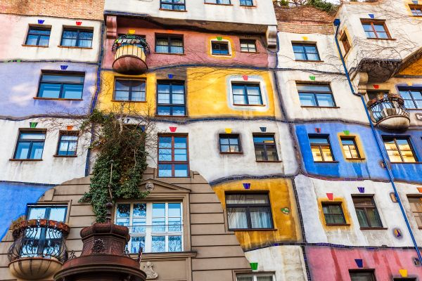 Hundertwasserhaus, Arts and culture, Vienna, Austria
