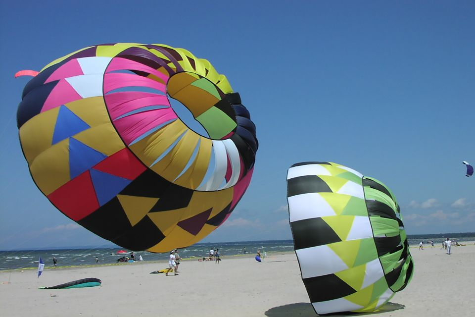Wasaga, Canada, Ontario, Lac, grands lacs, Amérique, Amerique, plage, parachute, sable