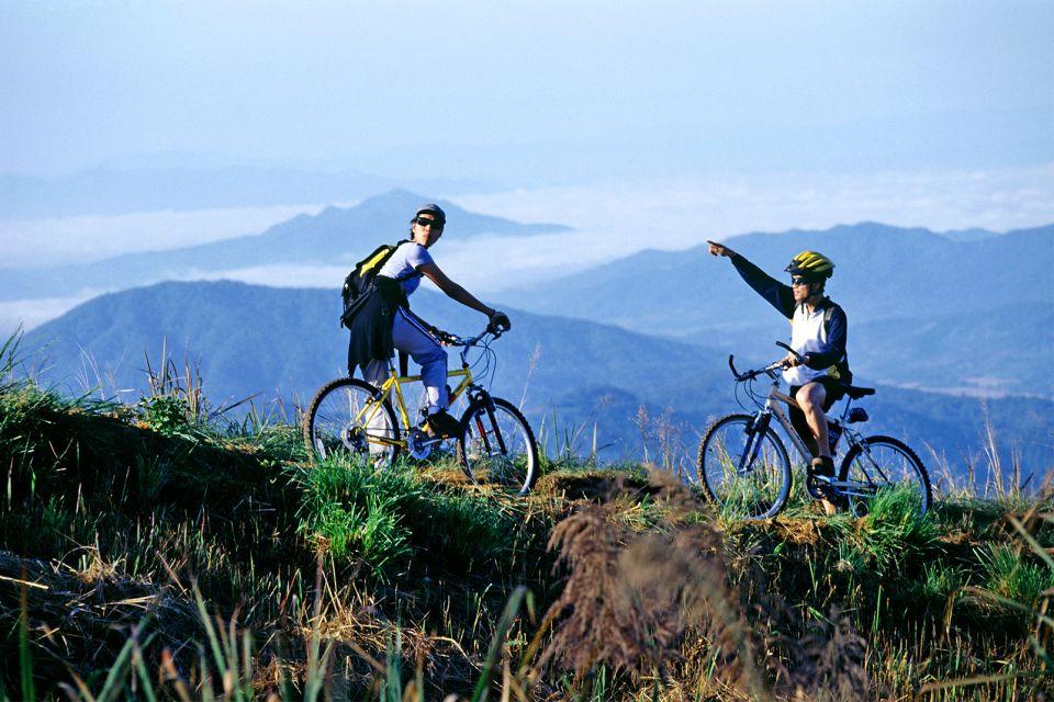 Les sports , Mountain biking in Chang Mai , Thailand