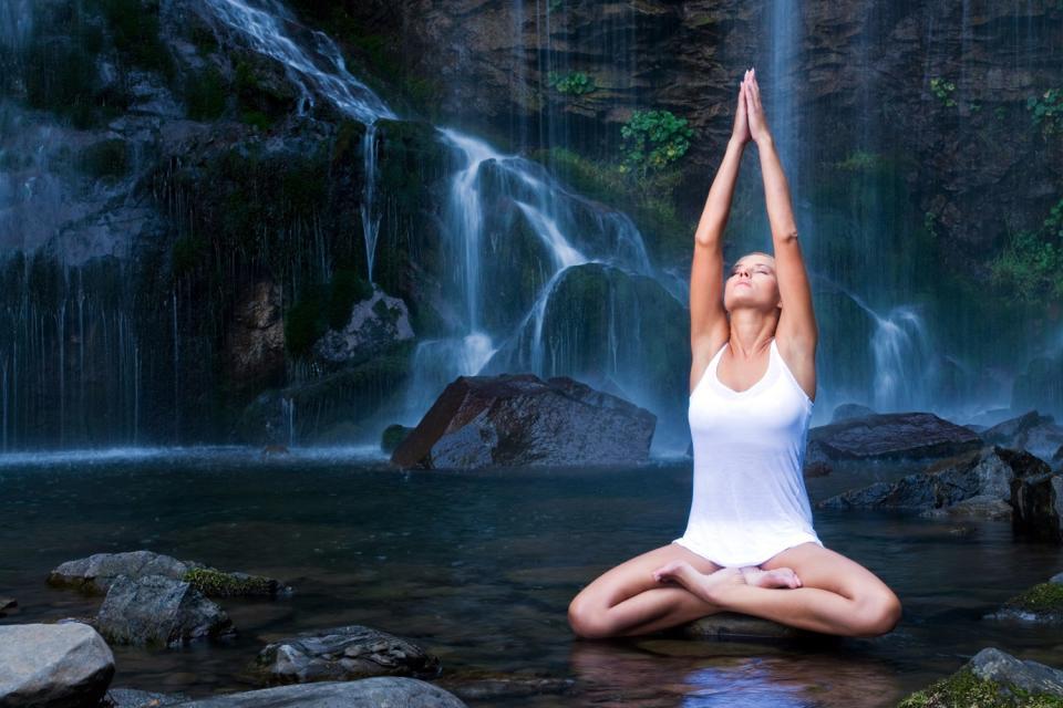 Wellness , Die Meditation , Thailand