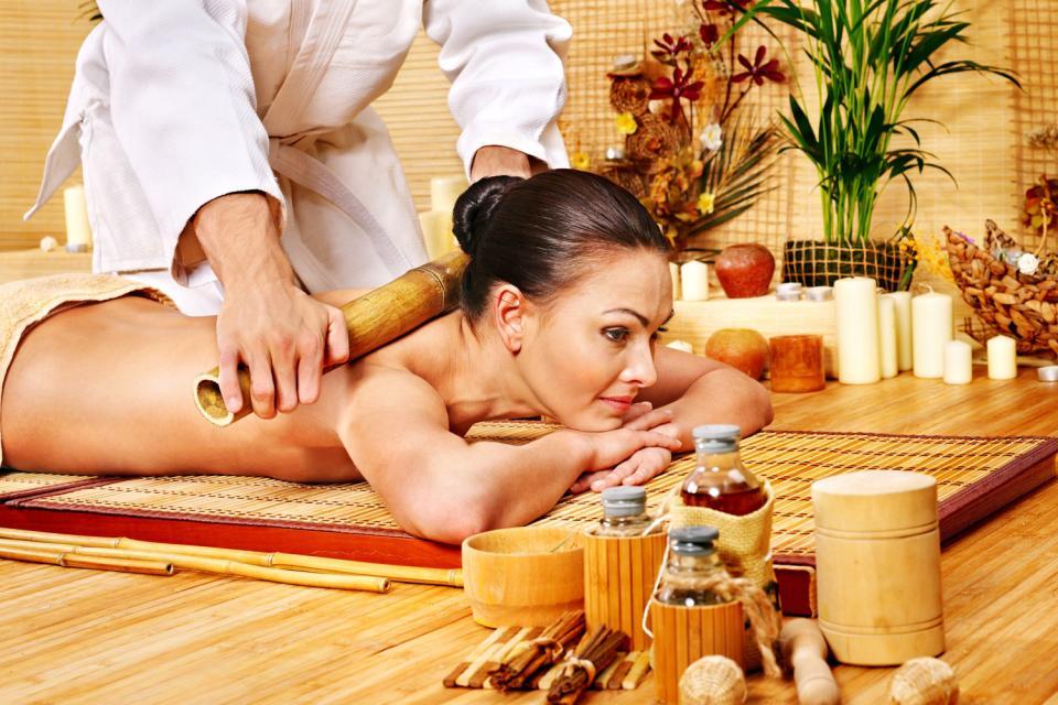 Wellness , Die thailändische Massage , Thailand