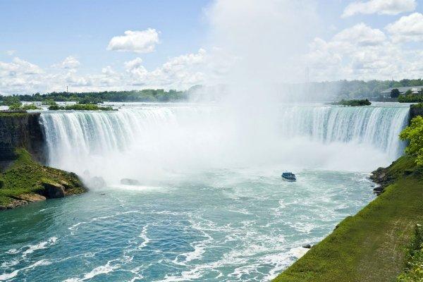 Die Niagarafälle , Kanada