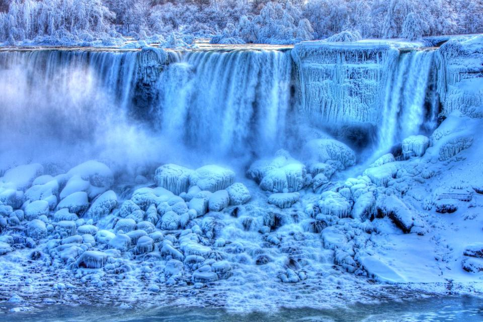 Les chutes du Niagara , Canada