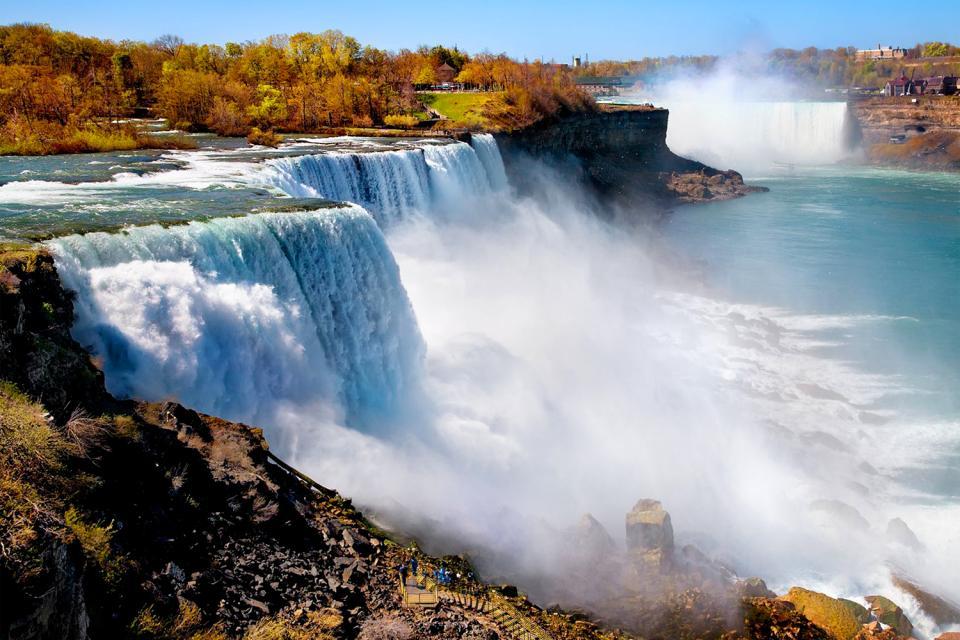 Les chutes du Niagara - Ontario - Canada