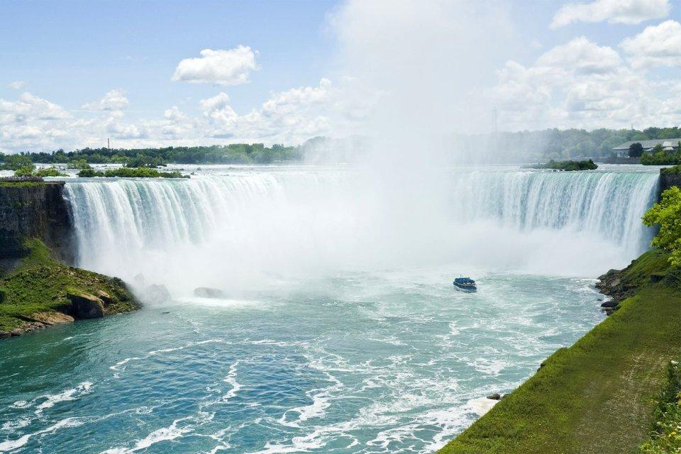 Chutes du Niagara, Les chutes du Niagara, Les côtes, Toronto, Ontario