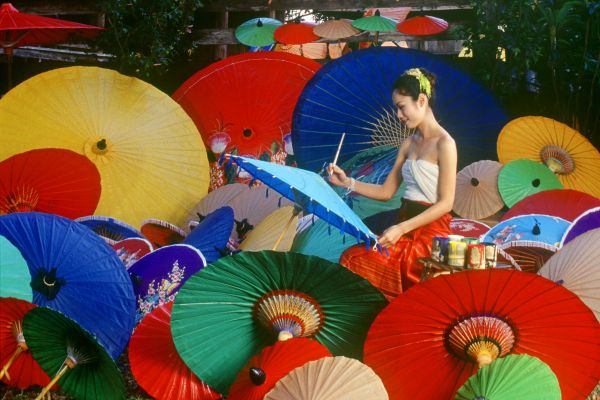 Thai handicrafts, Thailand, Thai arts and crafts, Arts and culture, Thailand