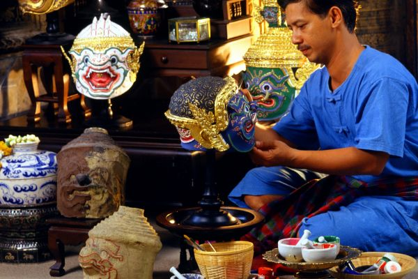 The adorned temples, Thailand, Thai arts and crafts, Arts and culture, Thailand