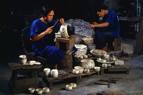 The craft workshops, Thailand, Thai arts and crafts, Arts and culture, Thailand