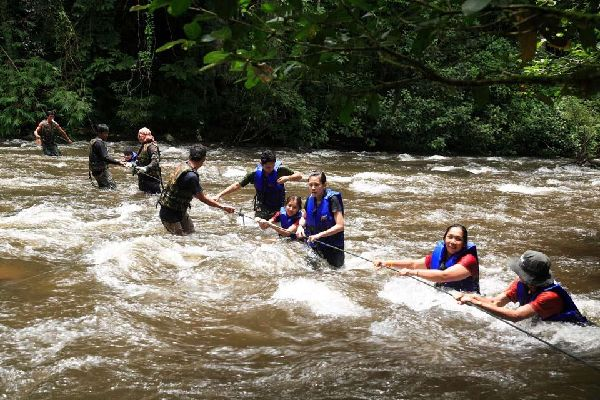 Les excursions , Canyoning , Thailand