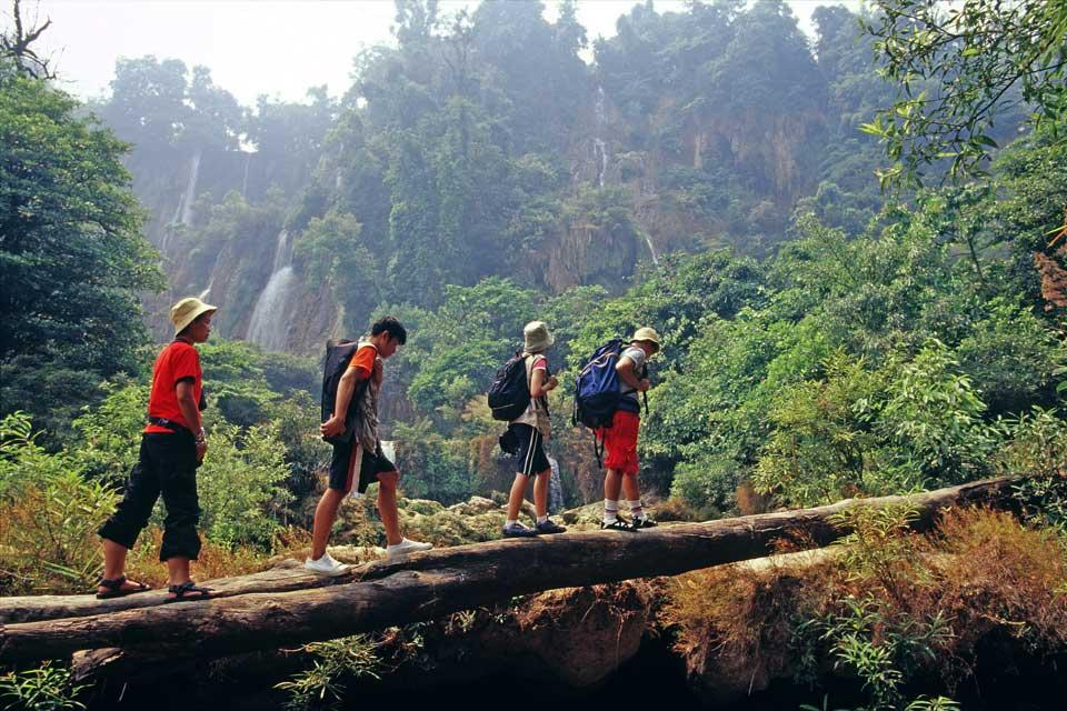 Les excursions , Hiking in Thailand , Thailand
