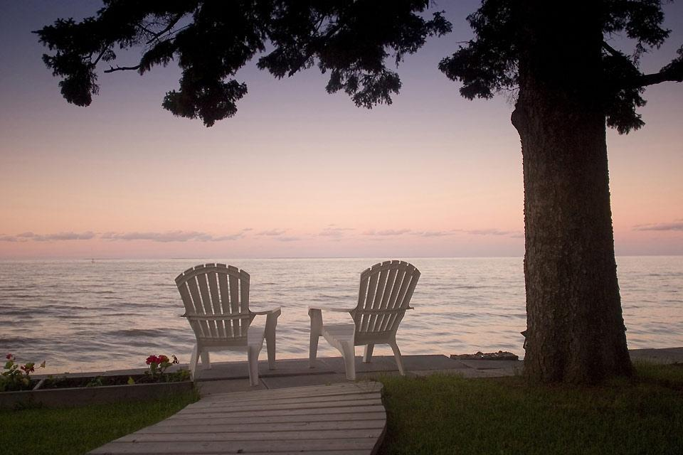 Manitoba Lakes , Georgian deck chairs, Ontario, Canada , Canada